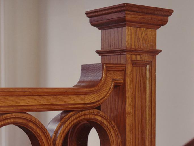 architectural wood finishing
